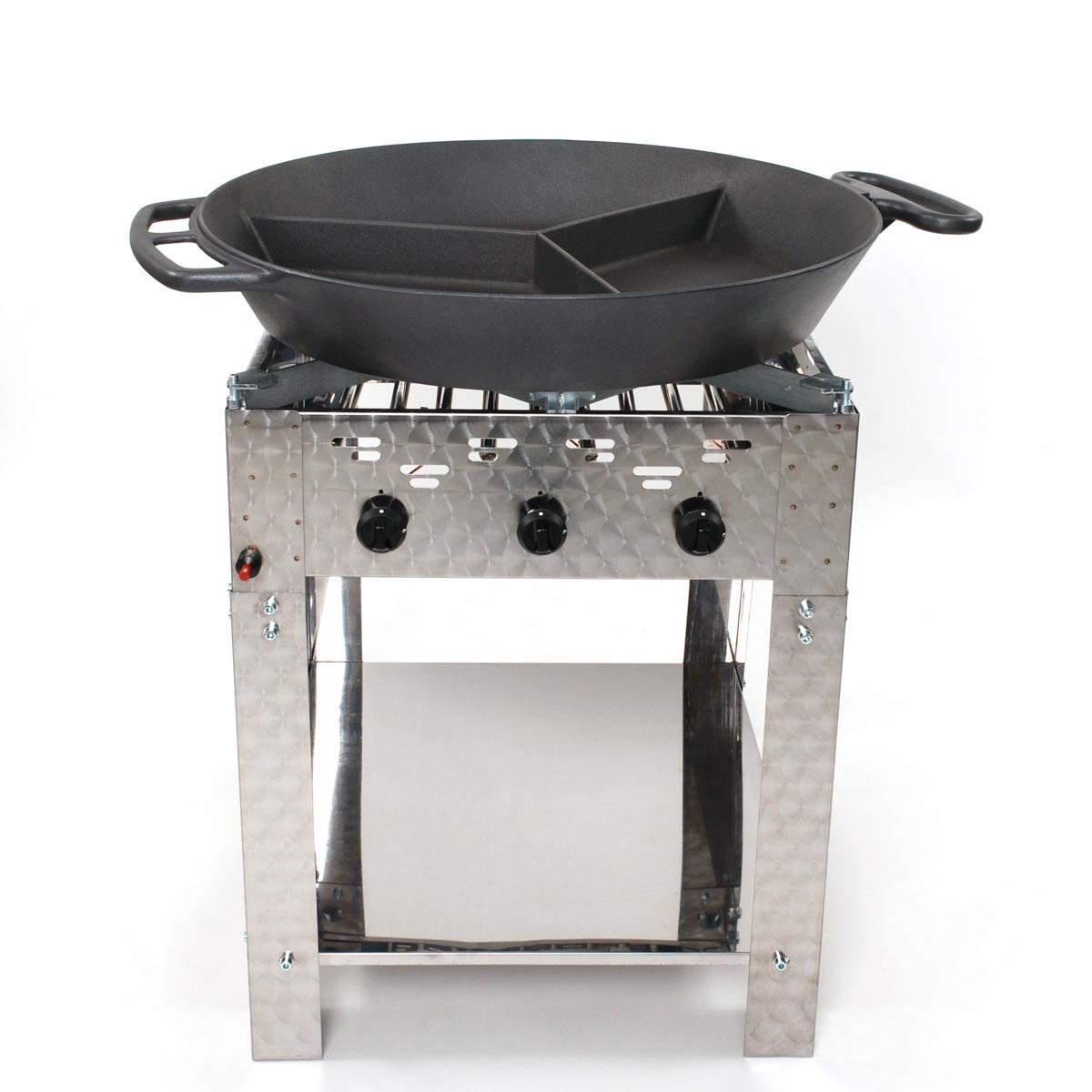 Hockerkocher / Großpfannengeräte