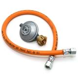 Druckminderer 50mbar und Gasschlauch 60cm UEM & UEM