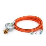 Druckminderer 50mbar und Gasschlauch 150cm UEM/SRV