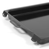 Stahlpfanne emailliert für 2/3-flammige Grill/Bräter